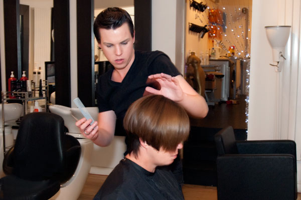 the s salon features the best hair colourist and most talented and creative hair stylist walk through our door and enjoy a relaxing professional - Professional Hair Stylist